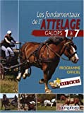 Les Fondamentaux de l'Attelage - Galops 1 à 7 (Equitation) de L. Grard Guenard (2008) Broché