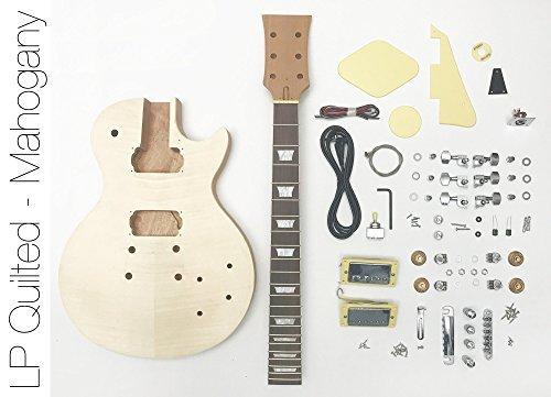 DIY Electric Guitar Kit Singlecut Mahogany Style | The Fret Wire