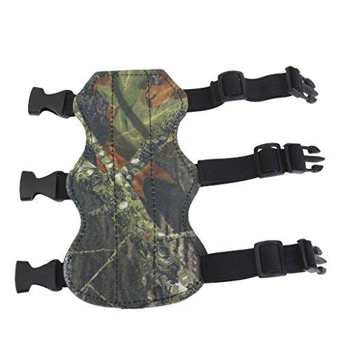 Magideal Schießen Bogenschießen Armschutz Bogen Schützen 3 Straps Camouflage