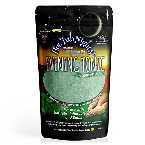 Hot Tub Nights Nuits de Jacuzzi (Cristaux d'aromathérapie toniques
