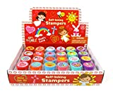 TINYMILLS Religious Christian Love Stampers for Kids Religious Prizes Carnival VBS Sunday School Church Festival Classroom Giveaways Gift Jesus Loves You Party Favors