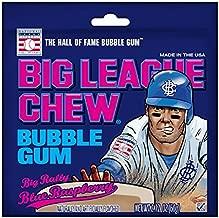 Big League Chew Blue Raspberry Chewing Gum