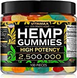 Delicious Vitamax Hemp Gummies All Natural Tasty Fruit Flavors 100 Delicious Gummies Made in USA 30 Day Full Money Back Guarantee.