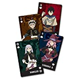 Great Eastern Entertainment Black Clover Anime Group Playing Cards