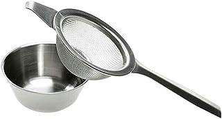 Onior キッチン工芸ステンレス 長柄濾茶器 茶瓶 お茶フィルター ステンレス茶フィルター 長柄茶フィルター お茶漏れ 茶部品 茶器の品質を保証します