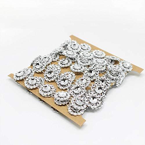 Kerst Decoraties Bling Kleding Accessoire Kralen Ketting Zonnebloem Diamant Mesh Bruiloft Party Decor Kristal Lint Wrap