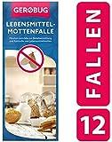 Gerobug Lebensmittel-Mottenfalle 12 Stück + E-Book zur endgültigen...