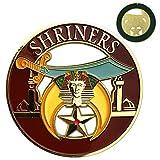 Shriner Masonic Car Emblem Mason Auto Decal