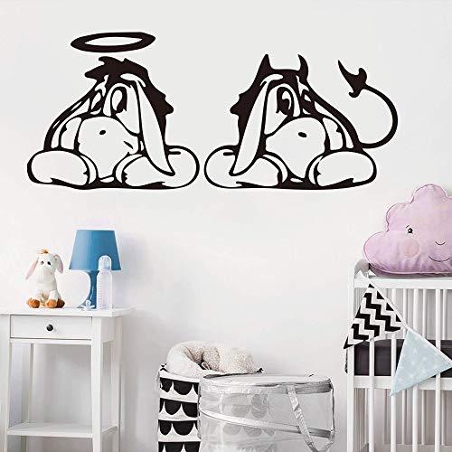 SMZYKW Sticker Mural Bourriquet Mur Voiture Lap Stickers Enfants Chambre Véhicule Bourriquet Winnie Le Mur Ordinateur De Voiture Autocollant Vinyle Décor WL92