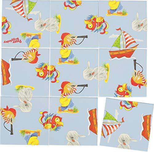 goki 57477 Peggy Diggledey Kniffliges Puzzle, Gemischt