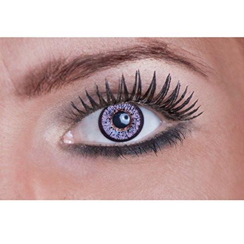 Eyecatcher Natural Color Fun Tone - farbige Kontaktlinsen - Mystic Violet - 2 Stück (1 Paar)