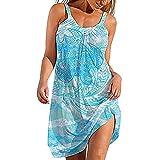 Moda para Mujer PatróN Abstracto Tipo De Liga ImpresióN 25d Urban Casual Falda De Playa para Mujer Vestido Largo De Cintura Media