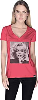 Creo Marilyn Monroe T-Shirt For Women - Xl
