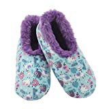 Snoozies Womens Furry Nice Slippers Slippers for Women | Womens House Slippers | Fuzzy Slippers with Soft Soles | Llama | Medium