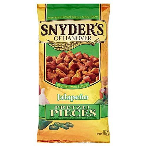 Snyder's of Hanover Jalapeno Flavored Pretzel Pieces 340.2g