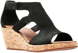 e9f4a8b9854 Amazon.com  CLARKS - Platforms   Wedges   Sandals  Clothing