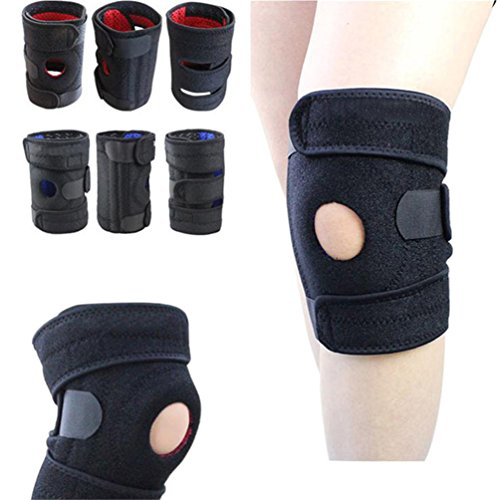 Haotfire Knee Pads£¬Sports Knee Athletics Knee Compression Sleeve Support For Running, Jogging, Sports, Basketball, Joint Pain Relief, Arthritis And Injury Recovery, Men And Women