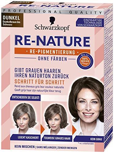 Schwarzkopf Re-Nature Re-Pigmentierung, Frauen Dunkel Stufe 0, 1er Pack (1 x 145 ml)