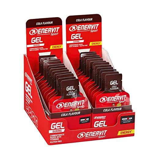 Enervit Enervitene Sport Gel Gusto Cola Confezione da 24 Gel da 25ml