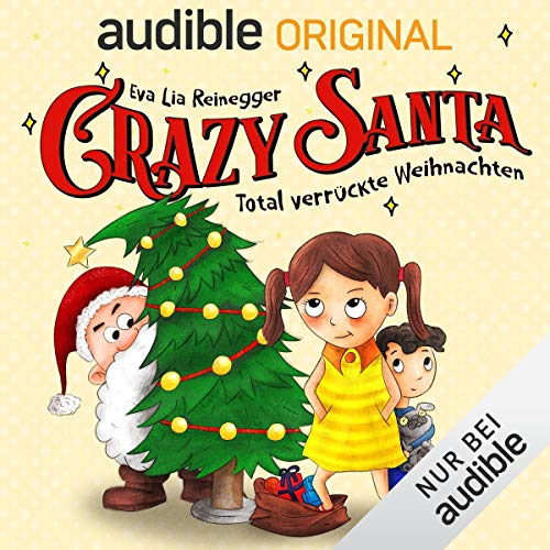 Crazy Santa audiobook cover art
