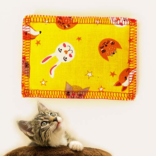 Joli Moulin Katzenminze Katzenspielzeug Schmusekissen Catnip 1 Stück zum Schnuppern Made in Germany