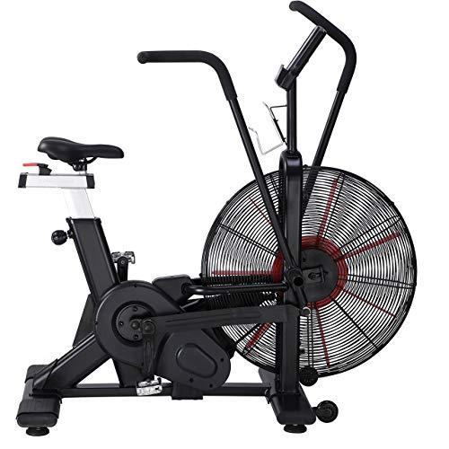 METIS Fury Assault Bike   Air Bike - Crossfit Geräte mit Luftwiderstand   Air Bike Assault for Crossfit zu Hause & im Fitnessstudio   7 Trainingsprogramme   Fahrradergometer Heimtrainer