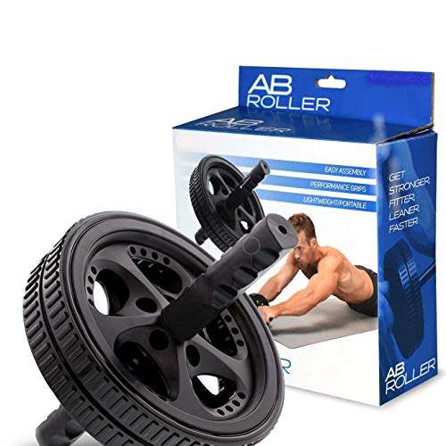 Bestdeal.shop Wheel Ab Roller Abdominal Fitness Exercise Gym Equipment for Home Training Slimming