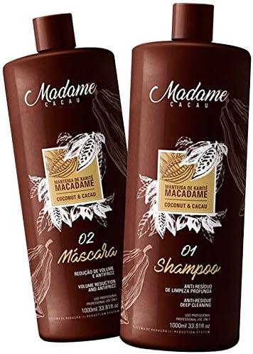 Fio Perfeitto Madame Cacau - Kit para alisar el pelo, brasileño (2l)