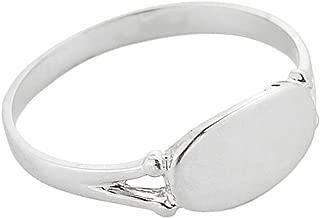 925 Sterling Silver Signet Ring for Women