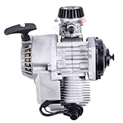 Engine size: 49cc Start mode: hand pull starter Gear System: centrifugal clutch Dimension of engine: 250mm X 220zmm Perfectly fit for pocket bike, mini dirt bike, ATV and scooter