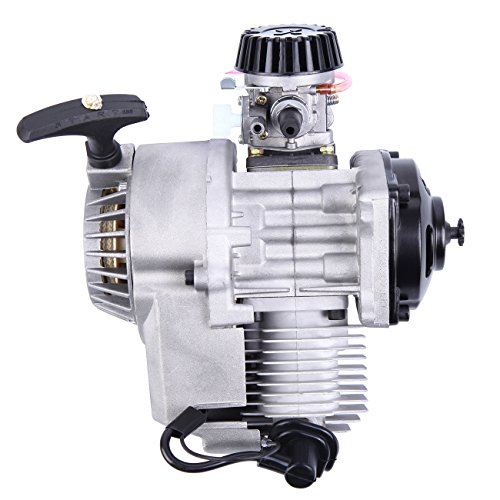 Sange 49cc 2 Stroke Pull Start Engine Starter Motor for Pocket Bike Mini Dirt Bike ATV Scooter