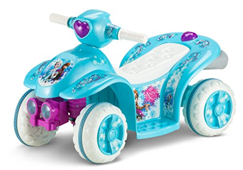 Kid Trax Frozen 6V Toddler Quad Ride On,...