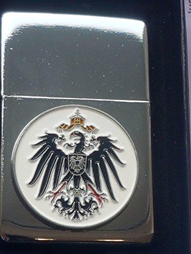 M&M MM 16119 ZORR Sturmfeuerzeug, Chrom, Silber, 8.5x6.5x2.5 cm