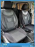 Fundas de asiento compatibles con Toyota Land Cruiser J15 conductor y pasajero a partir de 2009 – 2019 FB:909