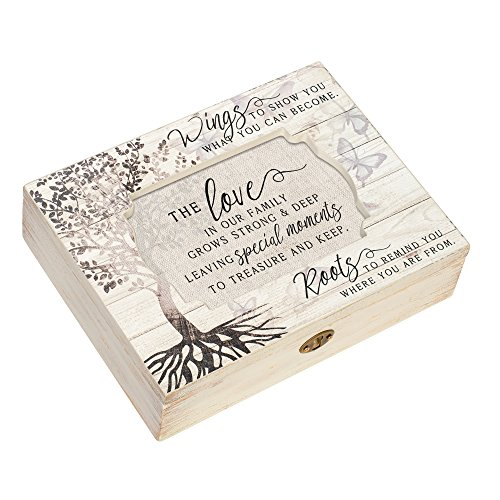 Cottage Garden Love Family Special Moments Deco Whitewash Jewelry...
