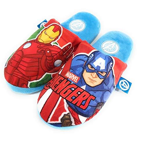 Zapatillas Avengers de Estar por Casa - Zapatillas Marvel Los Vengadores Pantuflas...