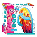Otto Inflatable Swimming Pool Floating Flip Flop with Cup Holder