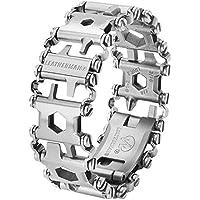 Leatherman Tread Wearable Multi-Tool Bracelet (29 Tools, Stainless Steel)