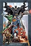 Justice League Laminiert DC Comics Group Maxi Poster 61 x