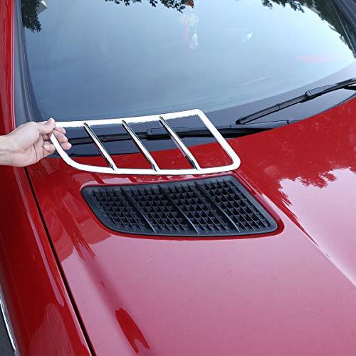 Diyucar Auto-Luftauslass-Rahmen, ABS-Chrom