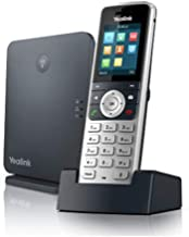 $149 » Yealink W53P Cordless DECT IP Phone and Base Station, 1.8-Inch Color Display. 10/100 Ethernet, 802.3af PoE, Power Adapter ...