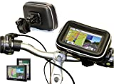 "Navitech Cycle/Bike/Bicycle & Motorbike Waterproof 6"" Sat/Nav GPS Mount And Case Compatible With"