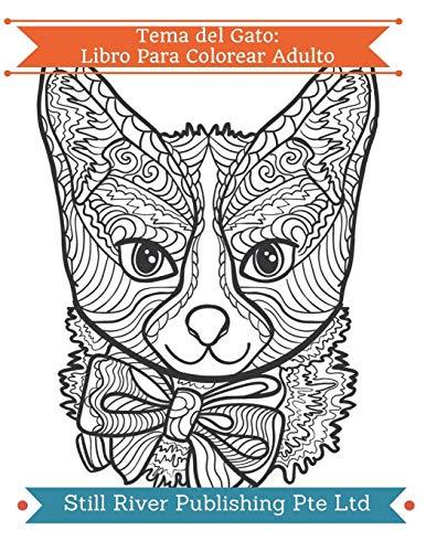 Tema del Gato: Libro Para Colorear Adulto