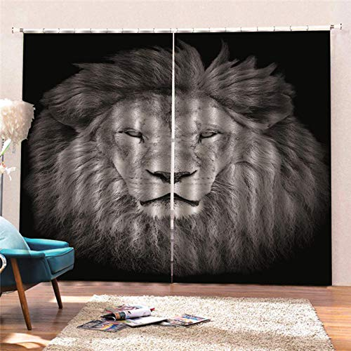 cortinas opacas leones