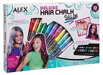 Alex Spa Deluxe Hair Chalk Salon Girls Fashion Activity