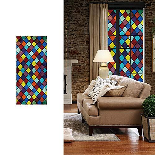 Fensterfolie Sichtschutz Folie Fenster Selbstklebend für Badezimmer Schlafzimmer Küche für Zuhause, Büro, Dekoration, Anti-UV-/Hitze