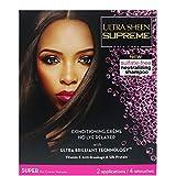 Ultra Sheen Supreme Relaxer 2Kit bajo de Pack Super textura para grueso/resistentes pelo