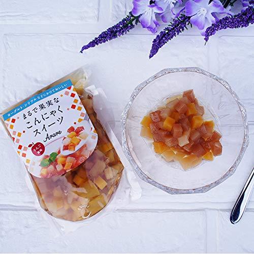 ケーフーズなまため こんにゃくスイーツ りんご味100g メール便 ゼリー デザート
