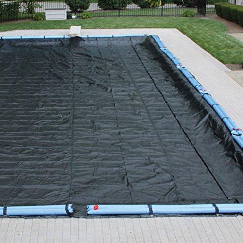 of mesh pool covers Harris 5-Year Mesh Winter Cover for 14'x28' Inground Rectangular Pool