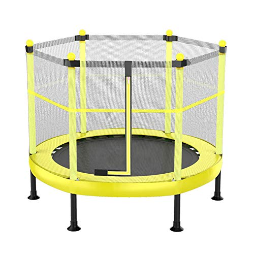 Outdoor Children Trampoline,Entertainment Trampoline With Closed Mesh Jump Pads And Spring Covered Pads